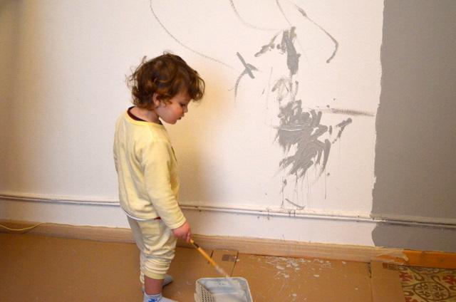 Pintando