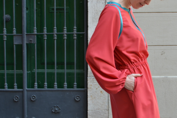 Vestido Urbano (Burda Style 2013/02 modelo 122)