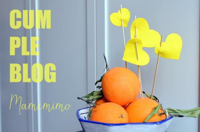 Tercer cumpleblog de Mamemimo