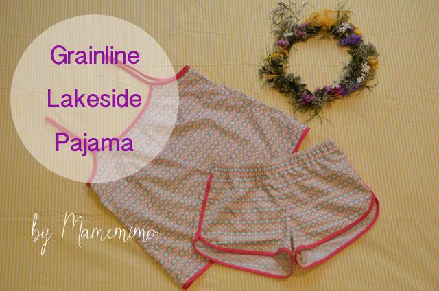 Grainline Lakeside Pajama