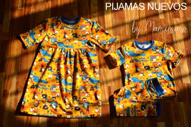 Pijamas nuevos