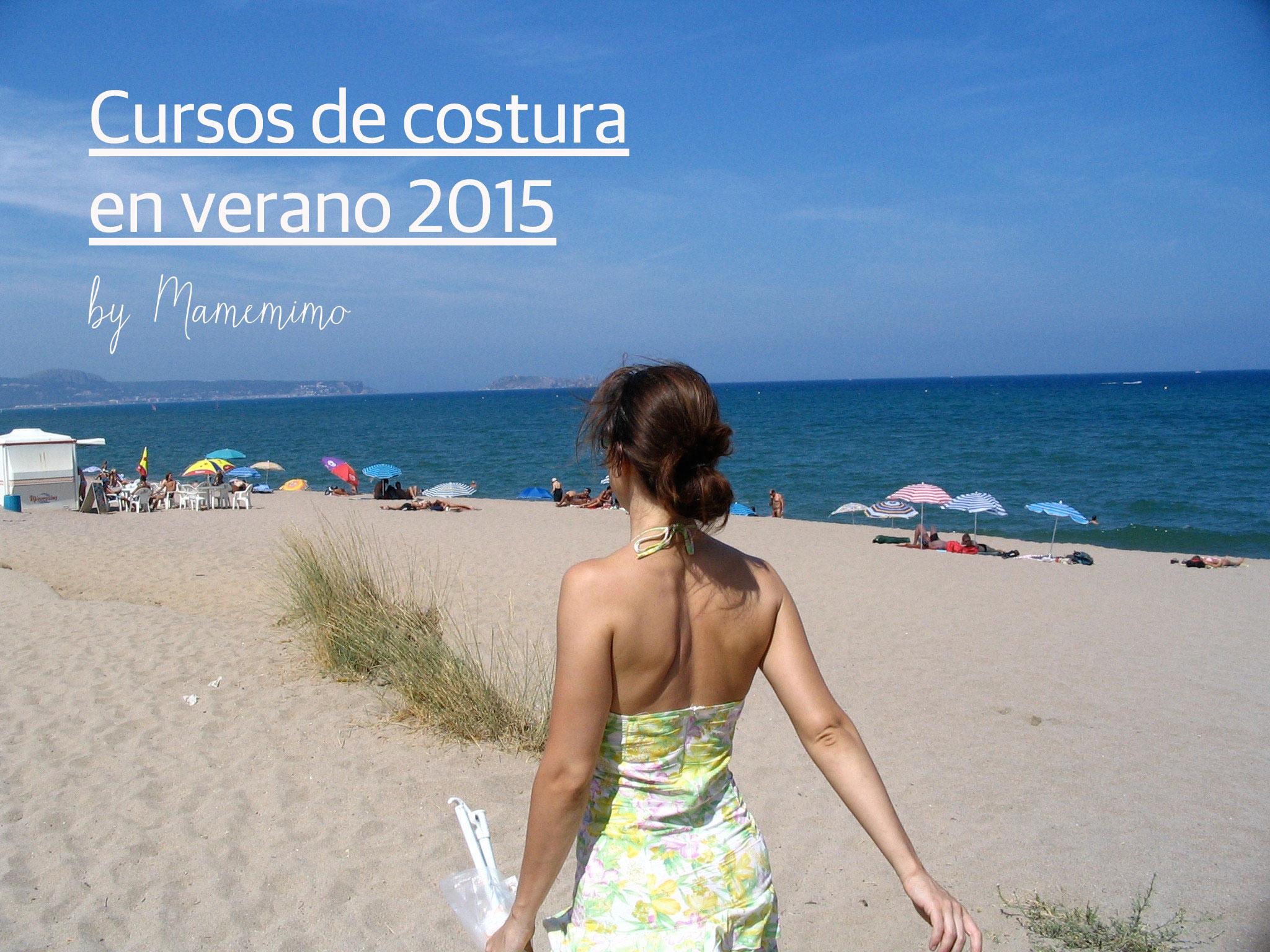 Cursos de Costura en Verano 2015
