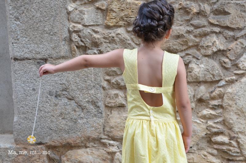 Mini vestido canario