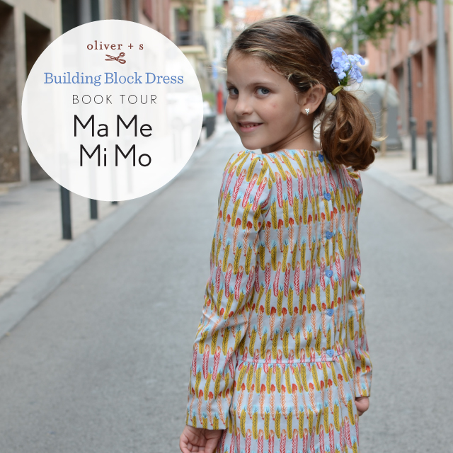 Oliver + S, Building Block Dress: book tour