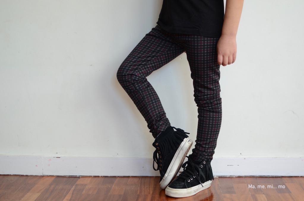 Dressage leggings: un patrón tres prendas 2/3