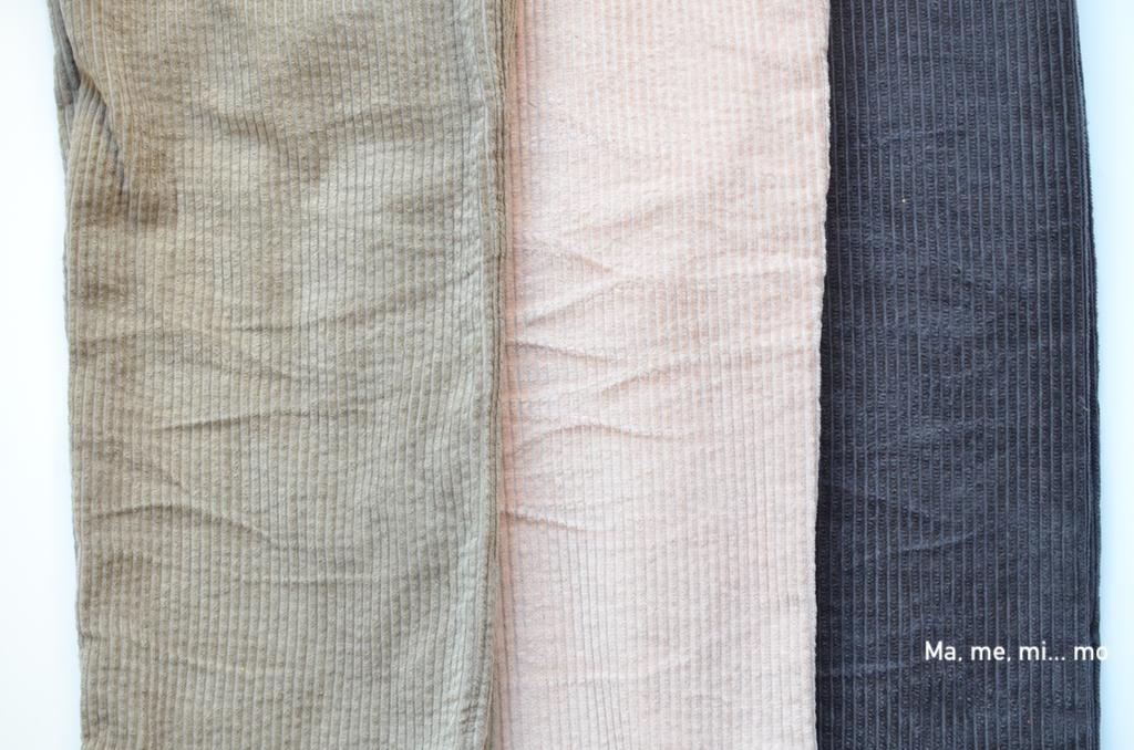 5 cosas que debes saber antes de coser pana